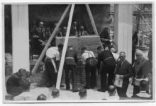 Laying of the foundation stone on 2 April 1949